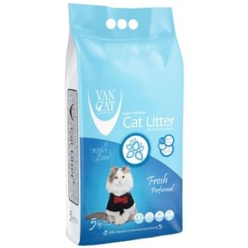 Наполнитель Van Cat для кошачьего туалета 5кг - купить, цены на Метро - фото 1