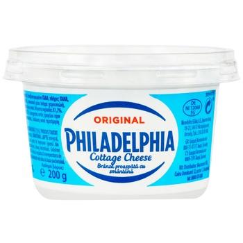 Сыр Philadelphia зернистый 18,7% 200г - купить, цены на Метро - фото 1