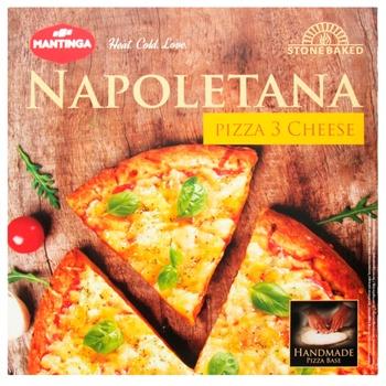 Пицца Mantinga Napoletana Три сыра быстрозамороженная 305г - купить, цены на Ашан - фото 4
