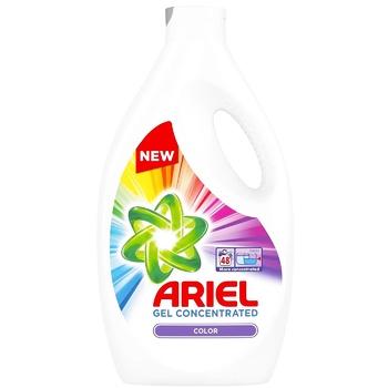 Рідкий пральний порошок Ariel Color 2,64л - купити, ціни на Метро - фото 1