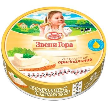 Сир Звени Гора Оригінальний плавлений порційний 50% 140г - купити, ціни на CітіМаркет - фото 1