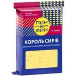 Сир Пирятин Король сирів твердий зі смаком та ароматом пряженого молока 50% 220г
