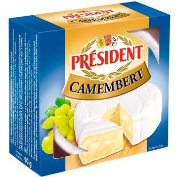 Сир President камамбер 90г - купити, ціни на ЕКО Маркет - фото 1
