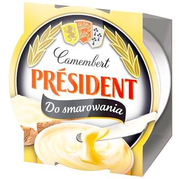 Сыр плавленый President с Камамбера 50% 120г