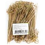 4Horeca Skewer Bamboo Knot 12cm 100pcs