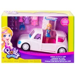 Polly Pocket Doll with Car Toy Set