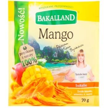Манго Bakalland сушеный 70г - купить, цены на Метро - фото 1