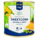 Metro chef sugar canned corn 2,65l