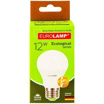 Лампа светодиодная Eurolamp LED А60 12W E27 3000K