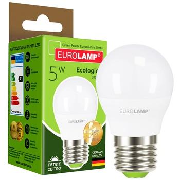 Лампа светодиодная Eurolamp LED G45 5W E27 4000K