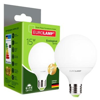 Светодиодная лампа Eurolamp LED G95 15W E27 K4000