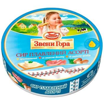 Processed cheese Zveni gora Mix 45% 8x17.5g - buy, prices for Auchan - photo 1