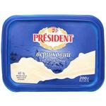 Сыр плавленый President сливочный 45% 200г