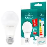 Titanum LED Lamp A60 8W E27 4100K 220V