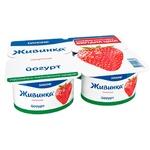 Йогурт Живинка клубника 1,5% 4шт*115г