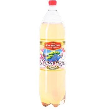 Напиток на вкусо-ароматических добавках Бон Буассон Крем-Сода сильногазированный 2л