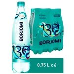 Borjomi carbonated water 750ml*6pcs