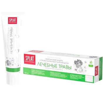 Зубная паста Splat Professional Medical Herbs защита от бактерий и кариеса 100мл