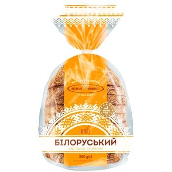Хлеб Киевхлеб Белорусский половина нарезка 350г - купить, цены на Фуршет - фото 1