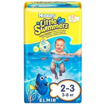 Huggies Diapers panties  for swimming 2-3 12pcs - buy, prices for Auchan - photo 1