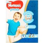 Трусики-подгузники Huggies для мальчиков 15-25кг 60шт
