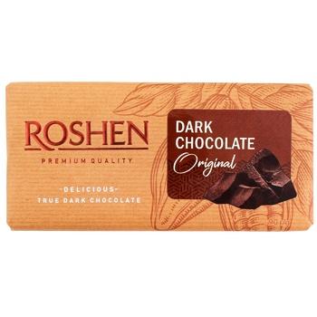 Roshen Original Dark Chocolate 90g