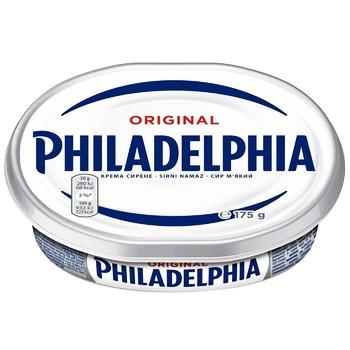 Сыр Филадельфия оригинальная 69% 175г - купить, цены на Метро - фото 1