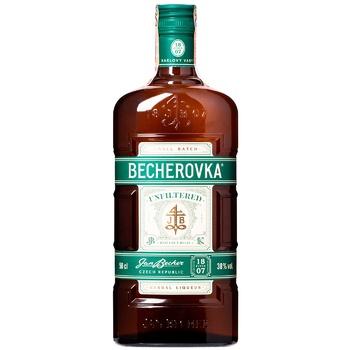 Ликер Becherovka Unfiltered 38% 0,5л