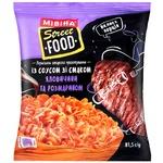 Вермишель MIVINA® Street Food с соусом со вкусом говядины и розмарином быстрого приготовления 81,5 г - купить, цены на МегаМаркет - фото 1