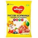 Рисовые коржики Milupa Груша ягоды 40г