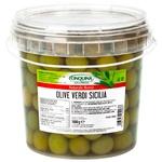 Cinquina Green Olives in Brine 1kg
