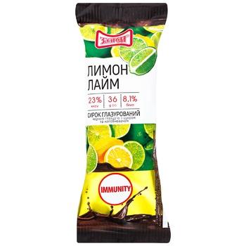 Zlagoda  Cheese Glaze Lemon-lime 28% 36g - buy, prices for CityMarket - photo 1