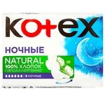 Прокладки Kotex Natural Night 6шт