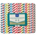 Metro Professional Straws Paper Colored 250pcs 240Х8mm