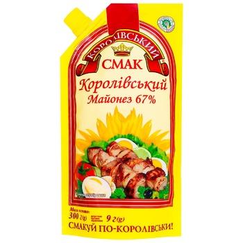 Майонезный соус Королевский вкус Королевский 67% 300г - купить, цены на СитиМаркет - фото 1