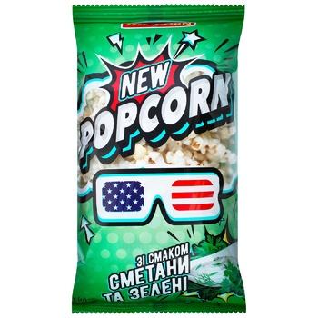 Попкорн Mr`Corn Сметана та зелень 70г - купити, ціни на CітіМаркет - фото 1