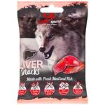 Alpha Spirit Snacks for Dogs with Liver Taste 50g