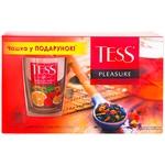 Набор чая Tess Pleasure 100шт + Чашка