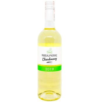 Вино  Ribeaupierre Chardonnay белое сухое 12% 0,75л в ассортименте