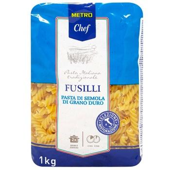 Макаронные изделия Metro Chef Фузилли из твердых сортов пшеницы 1кг
