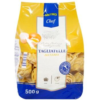 Макаронные изделия Metro Chef Тальятелле из твердых сортов пшеницы 500г