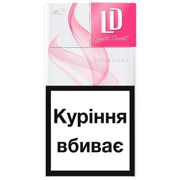 Сигареты LD Super Slims Pink - купить, цены на Метро - фото 2