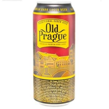 Old Prague dark beer 4,4% 0,5l - buy, prices for CityMarket - photo 1