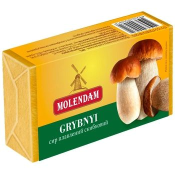 Molendam Processed cheese with mushrooms 70g