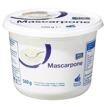 Сыр Aro Маскарпоне 500г - купить, цены на Метро - фото 1