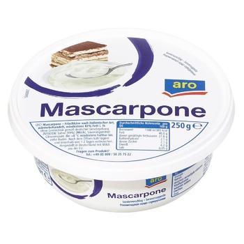 Сир Aro Маскарпоне 250г - купити, ціни на Метро - фото 1