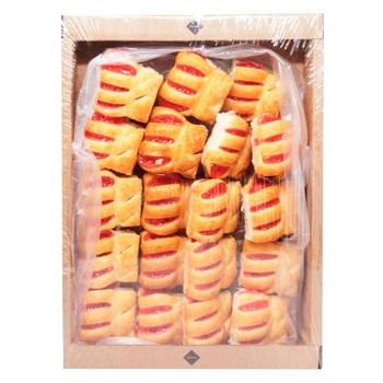 Печиво Rioba Шалене полуниця 400г - купити, ціни на Метро - фото 1
