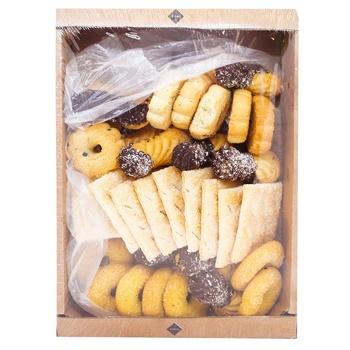 Печенье Rioba Семейное ассорти 540г - купить, цены на Метро - фото 1