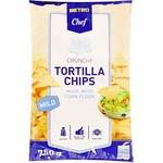 Чіпси Metro Chef Tortilla кукурудзяні з сіллю 750г