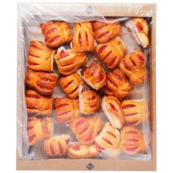 Печиво Rioba Шалене полуниця 1кг - купити, ціни на Метро - фото 1